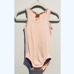 H&M Baby Girl Newborn Sleeveless Light Pink